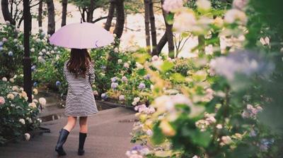 2018年九州南側の梅雨明け時期